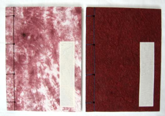 Modern Style Chinese Rice Paper Book